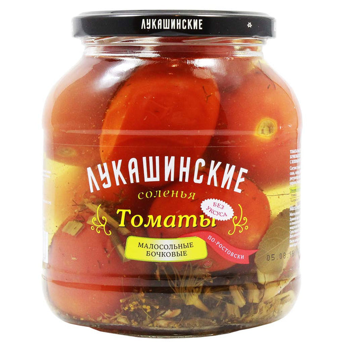 Traditional Rostov Style Pickled Tomatoes by Lukashinskie 23.6 oz