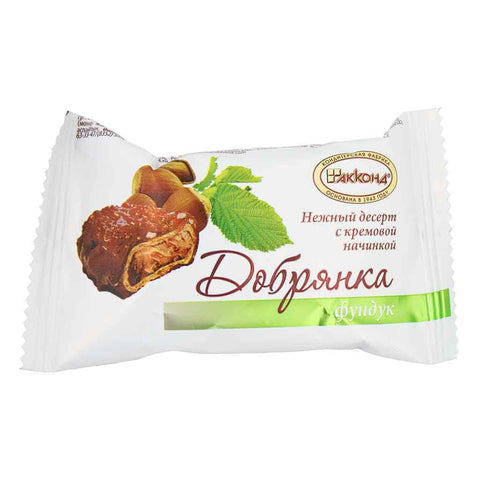 Russian Chocolate Dobrjanka Funduk Chocolate Waffle 1.5 oz (42.5 g)
