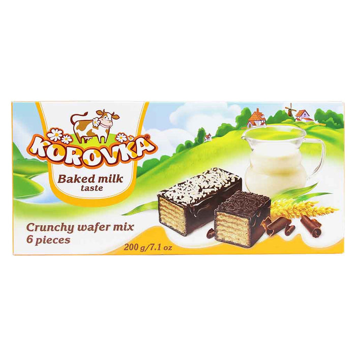Korovka Crunchy Wafers 7.1 oz. (200 g)