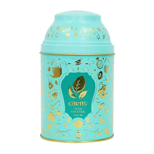 Hugo Cocktail Flavored Green Tea in Gift Tin, by Curtis, 2.5 oz (70 g)