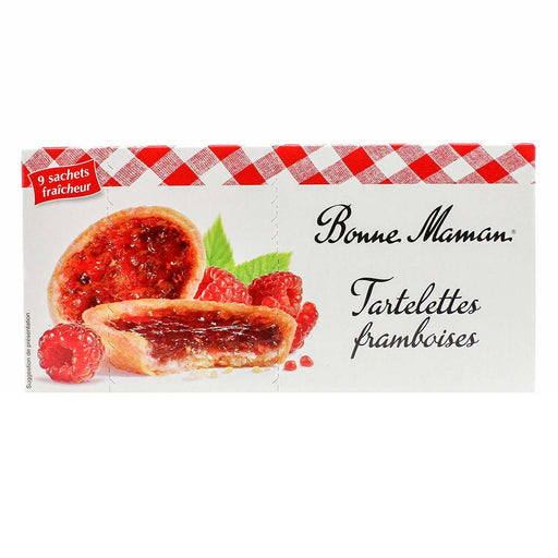Bonne Maman Raspberry Tartlets Tarts, 4.8 oz