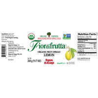 Rigoni di Asiago Fiordifrutta Organic Fruit Spread Lemon 9.1 oz. (260g)