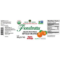 Rigoni di Asiago Fiordifrutta Organic Fruit Spread Seville Orange 9.1 oz. (260g)