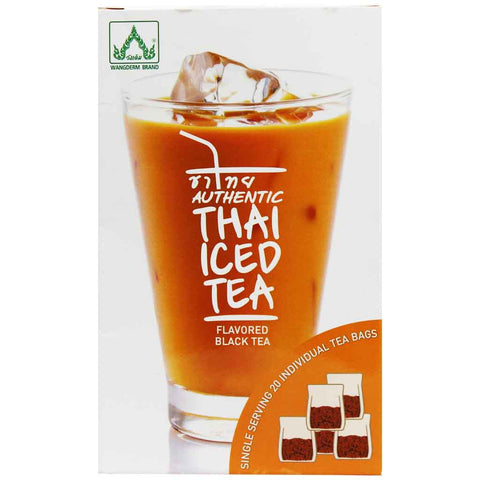 Authentic Thai Iced Tea by Wangderm 20 Tea Bags