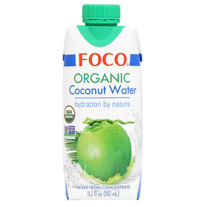 Foco Organic Coconut Water, 11.2 fl oz