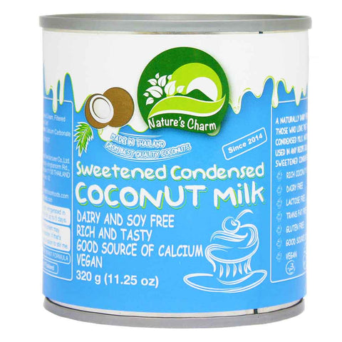 Nature's Charm Sweetened Condensed Coconut Milk 11.2 oz