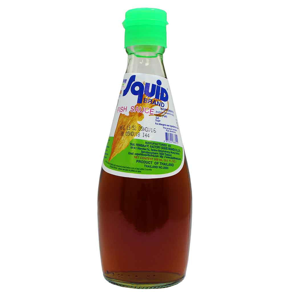 Squid brand fish sauce 9 6 fl oz for What is fish sauce