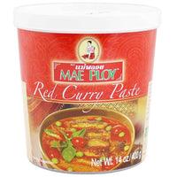 Mae Ploy Thai Red Curry Paste 14 oz. (400g)