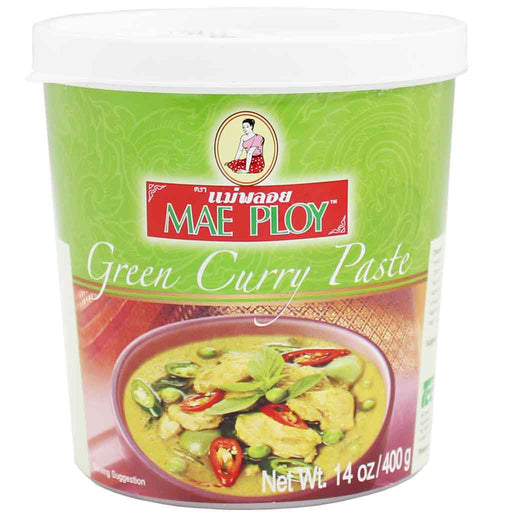 Mae Ploy Green Curry Paste 14 oz. (400g)