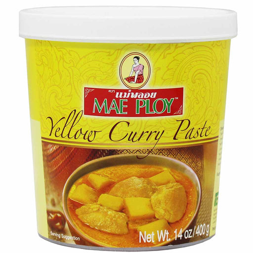 Mae Ploy Thai Yellow Curry Paste 14 oz. (400g)