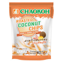 Chaokoh Bacon & Cheese Roasted Coconut Chips 1.4 oz. (40g)