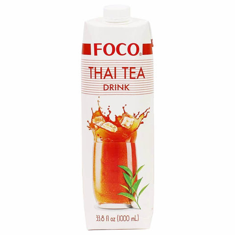 Foco Thai Tea Drink 33.8 fl. oz. (1000ml)