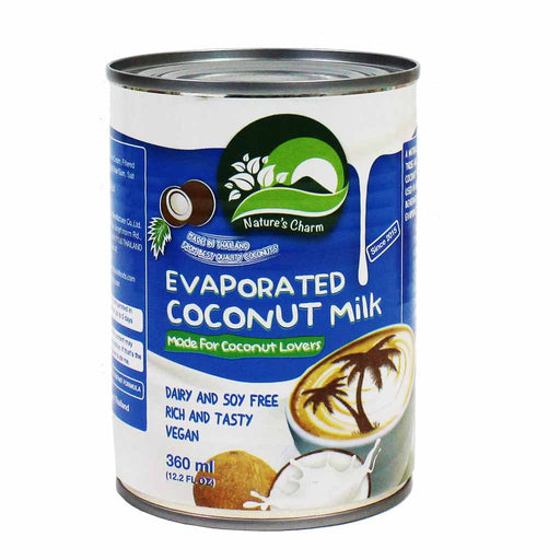 Evaporated Coconut Milk by Nature's Charm 12.2 oz. (360ml)
