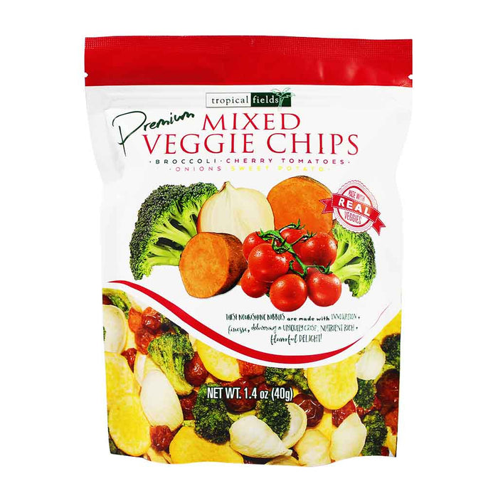 Tropical Fields - Mixed Veggie Chips, 1.4 oz.