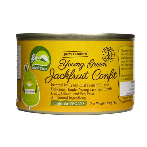 Nature's Charm Young Green Jackfruit Confit, 8 oz(200g)