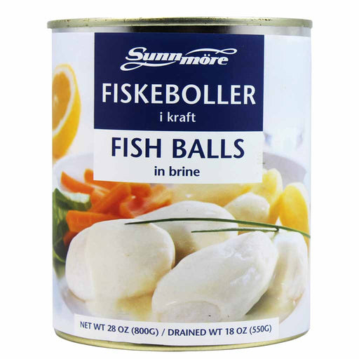 Norwegian Fiskeboller Fish Balls by Sunnmore 18 oz