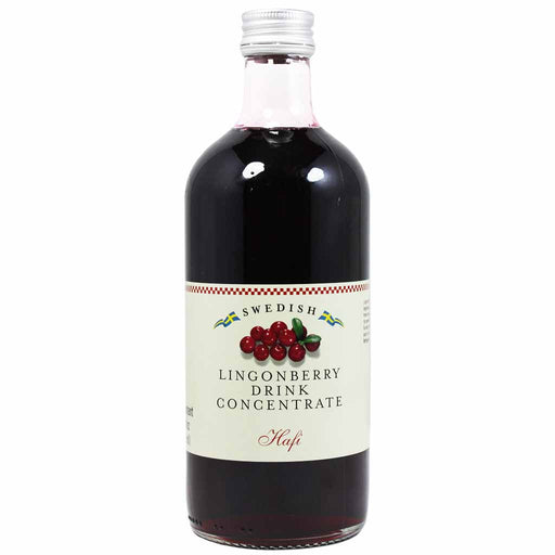 Hafi Swedish Lingonberry Syrup 17 oz
