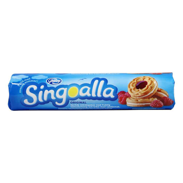 Swedish Singoalla Raspberry Filled Biscuits by Goteborgs 6.7 oz (190g)