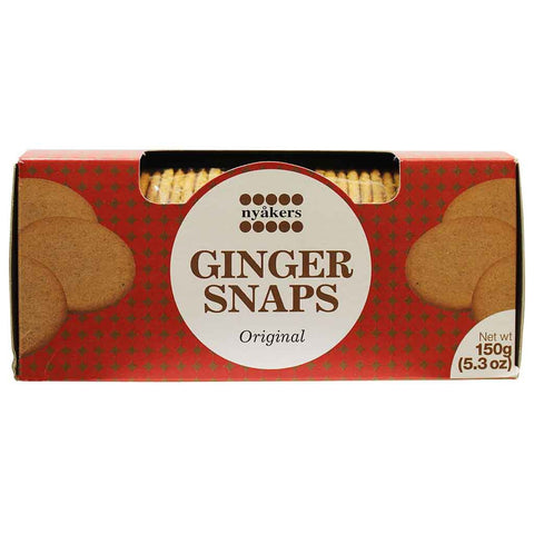 Nyakers Ginger Snaps 5.3 oz. (150 g)