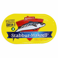Stabburet Mackerel Fillets in Tomato Sauce 5.9 oz. (170g)