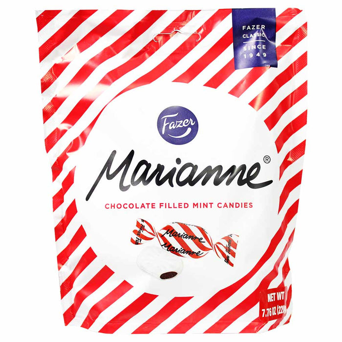 Fazer Marianne Chocolate Filled Mint Candies 7.7 oz. (220g)