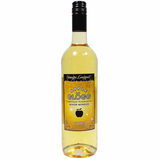 Grandpa Lundquist Scandinavian Apple Glogg 25.4 oz. (750ml)