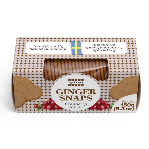 Nyakers Cranberry Gingersnaps, 5.3 oz (150 g)