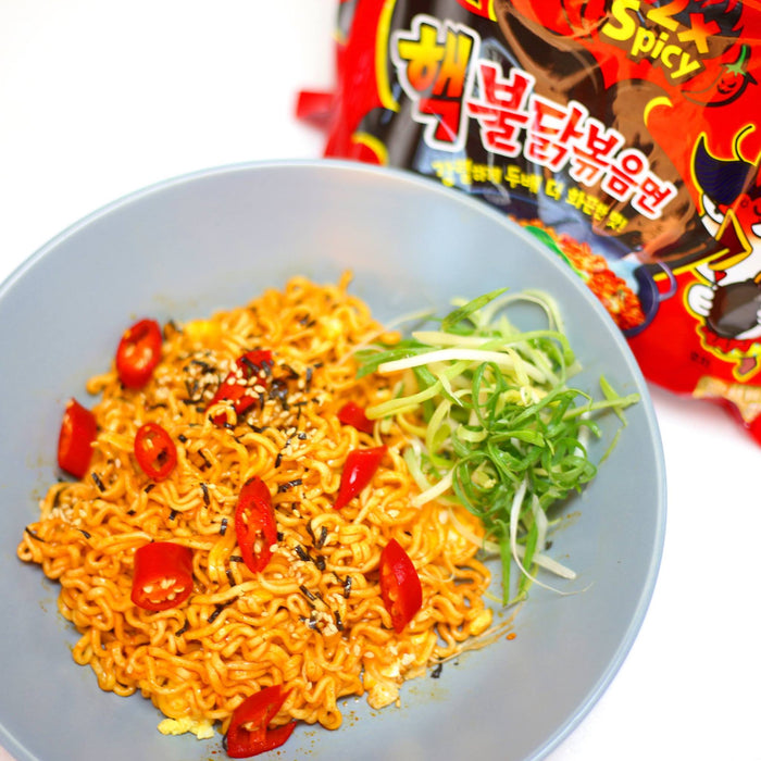 5-Pack Samyang Nuclear 2X Spicy Chicken Ramen (4.9 oz. x 5)