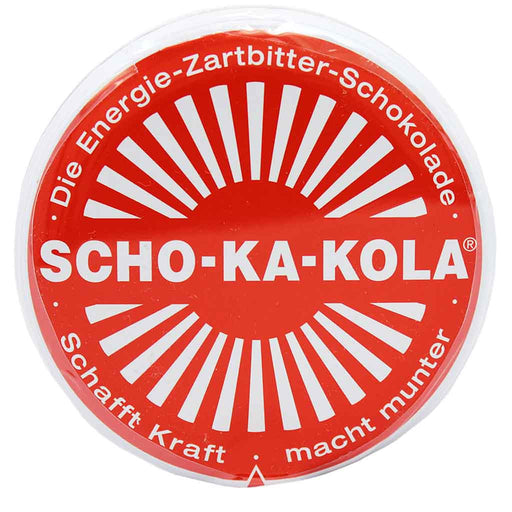 Scho-Ka-Kola Caffeine Dark Chocolate, 3.5 oz (100 g)