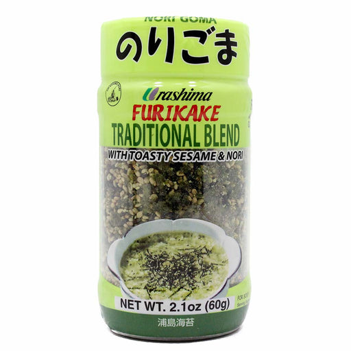 Furikake Seasoning with Sesame and Seaweed from Japan, 2.1 oz (60 g)