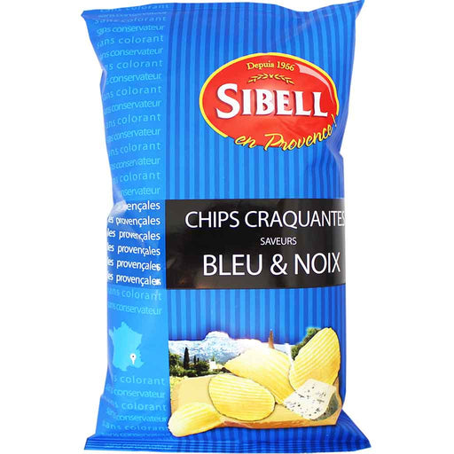 Sibell - Blue Cheese and Walnut Potato Chips, 4.2 oz. (120 g)