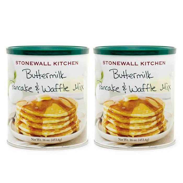 Stonewall Kitchen Buttermilk Pancake and Waffle Mix (2 Packs)
