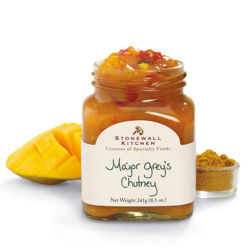 Stonewall Kitchen Major Grey's Chutney, 8.5 oz (241g)
