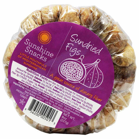 Sundried Mediterranean Figs by Sunshine Snacks 8 oz