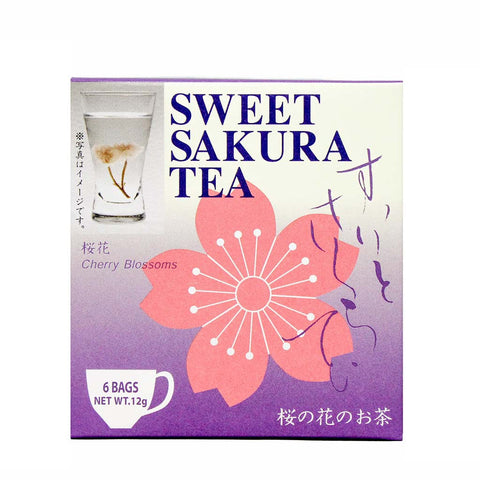 Sweet Sakura Tea 6 Tea Bags