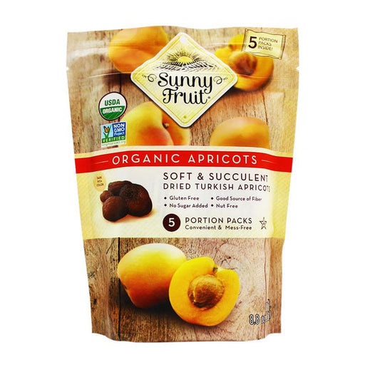 Sunny Fruit - Organic Turkish Apricots, 8.8oz (250g)