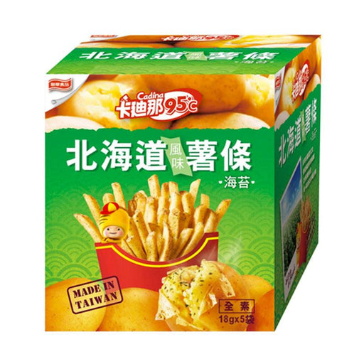 Seaweed French Fries by Cadina, 3.2 oz. (90g)