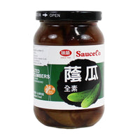 Taiwanese Salted Cucumbers by Sauce Co, 13.9 oz (395 g)