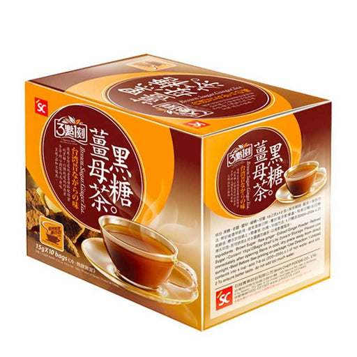 Taiwanese Brown Sugar Tea with Ginger, 5.3 oz. (150g)