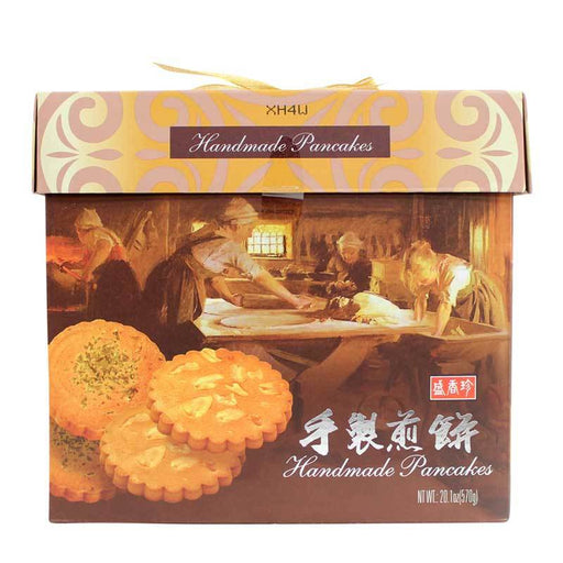 Taiwanese Pancake Cookies, Peanut and Seaweed Cookies Gift Box, 20.1 oz. (570g)