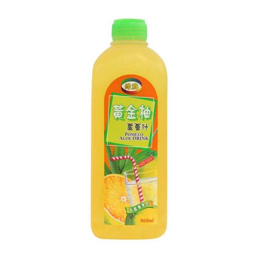 Aloe Vera Drink with Pomelo, 32.5 oz. (960ml)