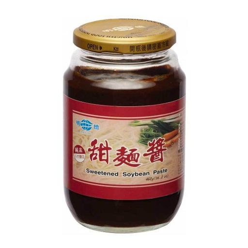 Ming Teh Sweetened Soybean Paste Tianmian Sauce, 16.2 oz. (460g)