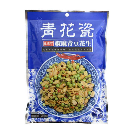 Triko Mixed Nuts with Sichuan Peppercorns and Peppers, 4.6 oz. (130g)
