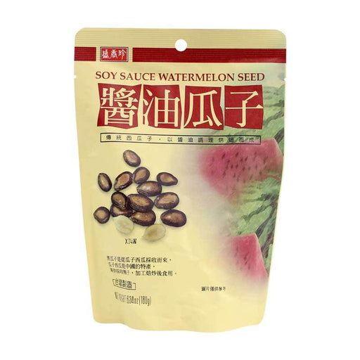 Watermelon Seeds Snack with Soy Sauce, 6.3 oz. (180g)