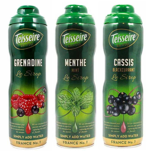 Teisseire French Syrup Variety Pack