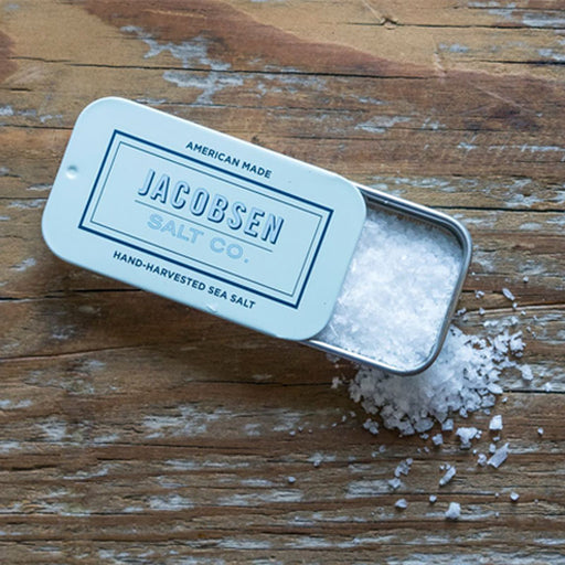 Jacobsen Salt Co Slide Tin Sea Salt, 0.4 oz.