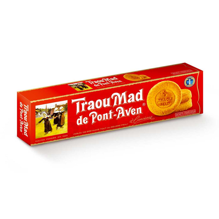 Traou Mad - Breton Palets, French Butter Cookies, 3.5 oz