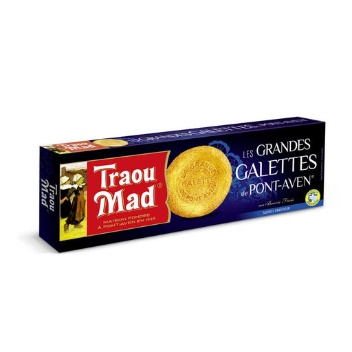 Traou Mad Galettes, French Cookies, 3.5 oz