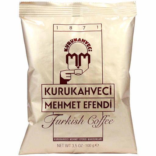 Kurukahveci Mehmet Efendi Turkish Coffee, 3.5 oz