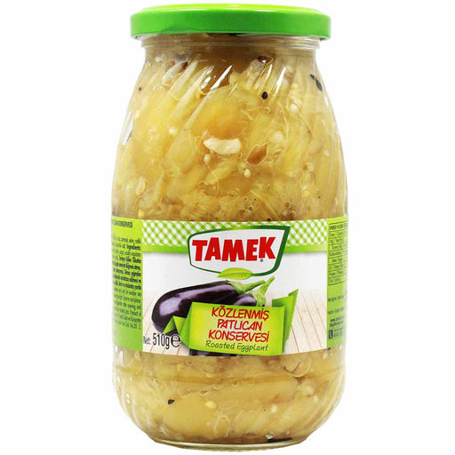 Tamek Turkish Patlican Roasted Eggplant 18 oz (510g)